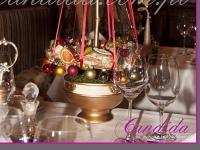 nowoczesna choinka, dekoracje świąteczne w restauracji, dekoracje bożonarodzeniowe, dekoracje świąteczne