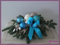 stroik świąteczny, dekoracje bożonarodzeniowe, dekoracje świąteczne