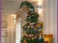 choinka na bufet, dekoracja świąteczna restauracji, dekoracje bożonarodzeniowe, dekoracje świąteczne