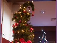 dekoracja świąteczna restauracji, dekoracje choinek, dekoracje bożonarodzeniowe, dekoracje świąteczne