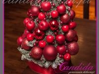 choinka, dekoracja świąteczna restauracji, dekoracje bożonarodzeniowe, dekoracje świąteczne