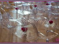 dekoracje stolików na event promujący wprowadzenie nowej serii kosmetyków