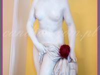 dekoracje eventowe, dekoracja rzeźby piwoniami