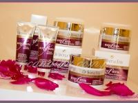 dekoracje eventowe, event promujący wprowadzenie nowej serii kosmetyków, ekspozycja produktu