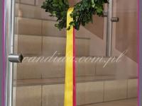 wianek wielkanocny, dekoracje wielkanocne, dekoracje eventowe, dekoracje wielkanocne dla PGNIG