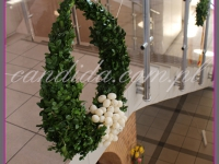 duży wianek wielkanocny, dekoracje wielkanocne, dekoracje eventowe, dekoracje wielkanocne dla PGNIG