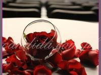 dekoracja stołu bankietowego, dekoracje eventowe, kwiaty na konferencję prasową BZ WBK z udziałem Kevin Spacey
