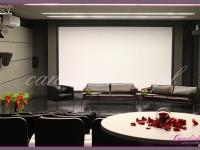 dekoracje kwiatowe na konferencje, dekoracje eventowe, kwiaty na konferencję prasową BZ WBK z udziałem Kevin Spacey
