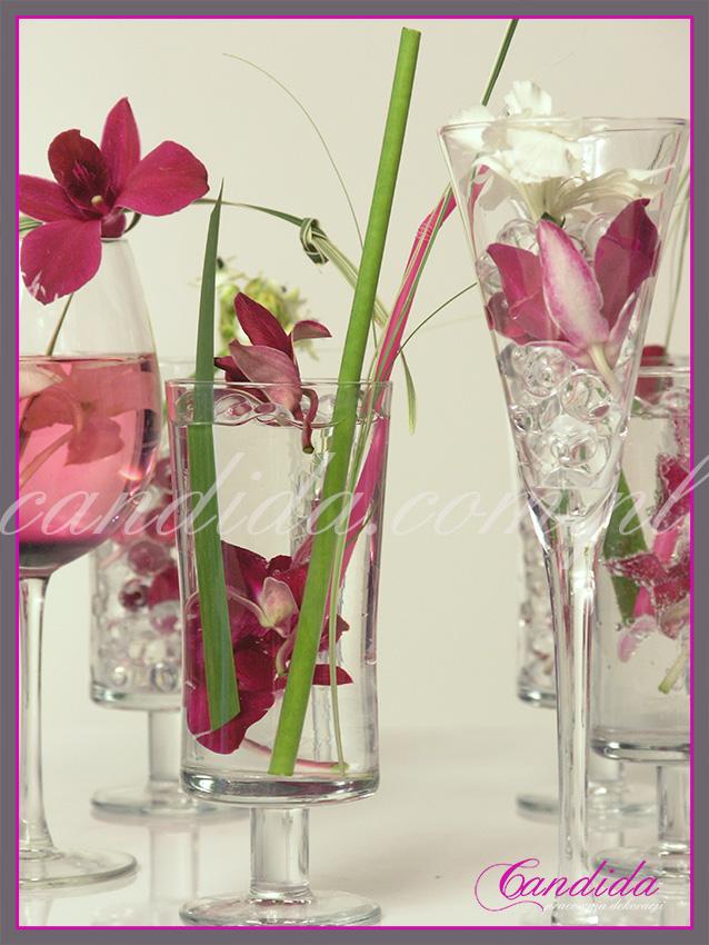 Sesja fotograficzna dla czasopisma Dobre Wnętrze. Temat: kwiatowe koktajle:)