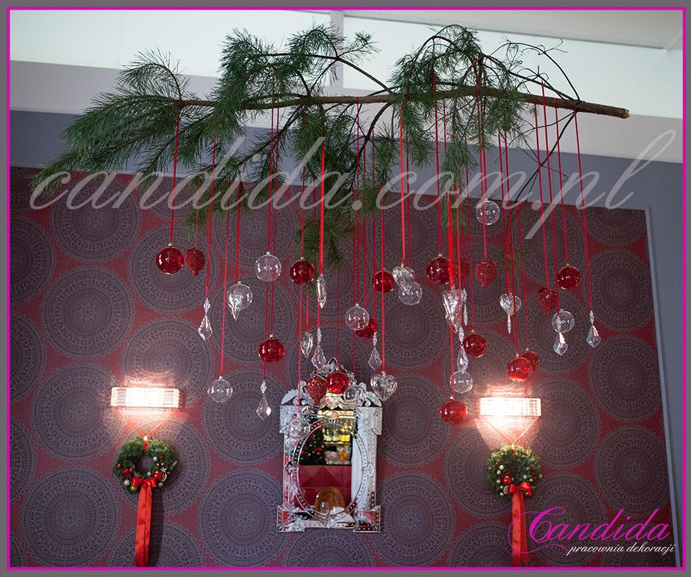 designerskie dekoracje świąteczne restauracji